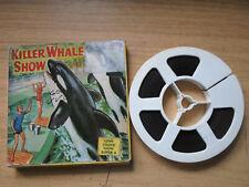 Super 8mm colour sound 1X200 KILLER WHALE SHOW. Documentary.