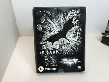 DC WB The Dark Night Rises Men's Size L TShirt NEW In Box Collectible Bat Flying