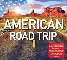 AMERICAN ROAD TRIP 3 CD SET VARIOUS ARTISTS - NEW RELEASE AUGUST 2017