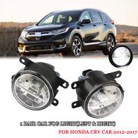LED Nebelscheinwerfer Set mit DRL Tagfahrlicht Für Honda CRV 2012-2017
