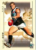 ✺New✺ 2003 PORT ADELAIDE POWER AFL Card STUART DEW Select XL