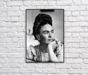Frida Kahlo Vintage Photograph Print / Photo / Mexico / Artist / Wall Decor