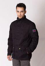 Mens Winter Army Combat Military Field Cotton Coat Jacket XL Black