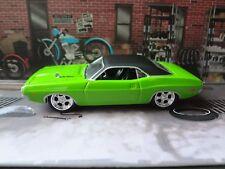 Greenlight 1970 Dodge Challenger Grn/Blk Loose 1:64