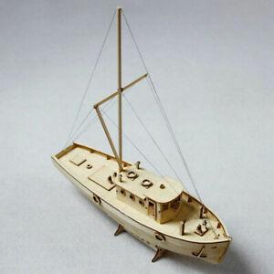 Assembly Ship Wooden DIY Sailboat Model Craft Boat Building Kit