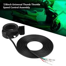 Thumb Throttle Speed Control Left Right Handle for Electric Bike E-Bike Scooter