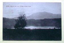 LEVICO - Bagni (m.520 s.m.) - Il lago al chiaro di luna [picc. b/n viagg.]