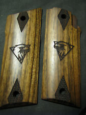 "Coonan Model ""B"" ONLY French Walnut Grips Smooth w/Logo+Checkered Diamonds NEW!"