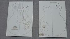 Les Paul Guitar Template - Laser Cut