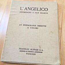 "Vintage Folio Collection ""L'Angelico--Affreschi a San Marco,"" Fratelli Alinari P"