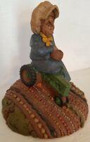 Rare - FLORA - Edition # 1 - Gnome - Tom Clark - farmer's wife - signed