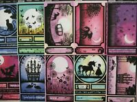 10x Hunkydory Whopper Toppers Foiled Diecut - Twilight Kingdom Fantasy fairies