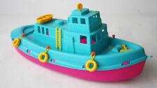 "RARE VINTAGE 90'S PLASTIC SHIP BOAT 14"" 36cm APERGIS GREECE GREEK NEW !"