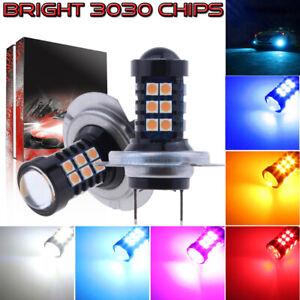 NEW 2x 3030 Chip 30SMD LED Bulb Conversion Kit Fog Lights Wholesale Super Bright