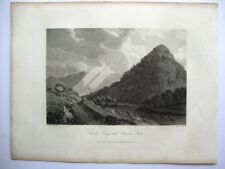 Castle Crag and Bowder Stone(published Sept 15th, 1815)