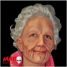 Deluxe Supersoft Old Woman Latex Mask-Creepy Vieille Dame Halloween Masque Effrayant!