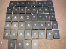 GSA Government Issued Box lot (44 Boxes) Small problems *No Torn Hinges* ID#K903