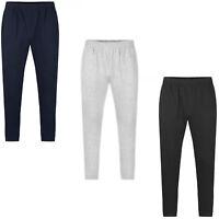Uneek Deluxe 50/50 Polycotton Gym Jogging Bottoms Pants Trousers Black Grey Navy