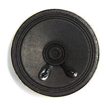 """2pc Mini Speaker 8Ω 0.25W φ57x16mm Diameter= 2.25"""" 57mm Depth= 16mm Paper Cone"""