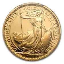 1988 ~UNITED KINGDOM~ 1/10~OZ ~ PURE GOLD ~ BRITANNIA ~ PCGS~PR~69DCAM ~ $238.88