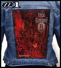 VITAL REMAINS  --- Huge Jacket Back Patch Backpatch --- Various Designs