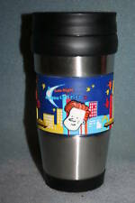 Late Night with Conan O'Brien TV Show Stainless Travel Coffee Tumbler Cup NEW