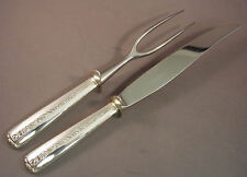 RAMBLER ROSE- TOWLE 2PC STERLING CARVING SET