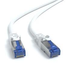5m CAT 7 Patchkabel Netzwerkkabel Ethernetkabel DSL LAN Kabel  - WEIß