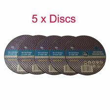 Trade Quality 3 Inch 75mm Air Cut Off Tool Discs x 5 - 30 Pack Exhaust Pipe