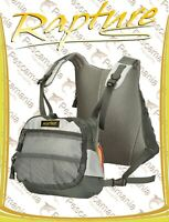 Zaino con marsupio Trabucco Rapture Guidemaster Pro Back&Chest Pack spinning