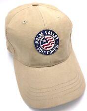 PALM VALLEY GOLF COURSE (AZ) tan / beige adjustable cap / hat