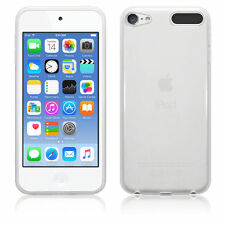 For Apple iPod 5th Gen Clear Silicone Gel Case Back Cover