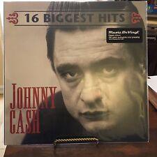 16 Biggest Hits by Johnny Cash (Vinyl, Feb-2010, Music on Vinyl)