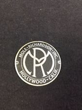 Mole Richardson Hollywood Decal Steampunk ARRI Bardwell Mcalister Studio Silver