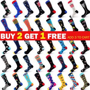 Women Mens Blend Cotton Ankle Socks Fashion Long Sport Design Socks Size 6-11