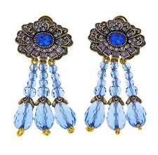 "Heidi Daus ""Brilliant Beauty"" Art Deco Inspired Crystal Accented Drop Earrings"