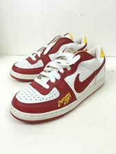 Nike Mens Terminator Supreme Court Red White Yellow CLEAN 309436 161 Size 8.5