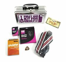 Kit de primeros auxilios para reproductor de cadenas de sintonizador de Ukelele Uke Libro de Música Regalo Presente fácil
