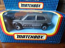 Matchbox  Volkswagen Golf GTI MB 56 Grey And Silver boxed
