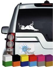 Greyhound Dog V4 Vinyl Car Animal Window, Bumper Decal / Sticker / Graphic