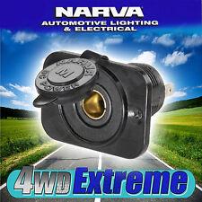 NARVA HEAVY DUTY MERIT SOCKET, PLUG ADAPTER CARAVAN FRIDGE 12 & 24 VOLT 81130BL