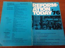 Reformation Today magazine, Issue 30 March- April 1976
