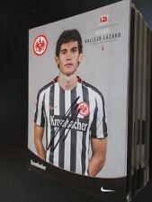 69119 J.V. Lazaro Eintracht Frankfurt 16-17 original signierte Autogrammkarte