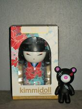 Poupée Chinoise KIMMIDOLL Collection YOSHIMI - Respect et ours (h:10cm) Neuf