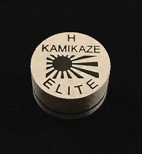 NEW....Kamikaze ELITE Layered Cue Tips  14 MM  (HARD) (1 Tip)  Fast Shipping.