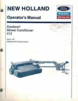 1431 New Holland Discbine Service Manual