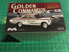 65 Plymouth Satellite Golden Commandos 1965 F/S Plastic Model Usa! hedders20oo