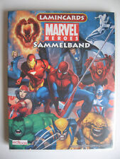 """Edibas collages album """"MARVEL HEROES"""", lamincards, 2008, complet"""