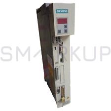 Used Amp Tested Siemens 6se7015 0ep50 Z Ac Simovert Drive