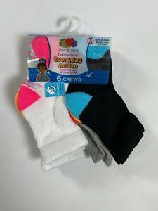 Boys Fruit of the Loom Multicolor Crew Socks (6 Pair) NEW! NWT